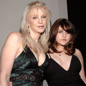 Courtney Love and daughter Frances Bean Cobain.
